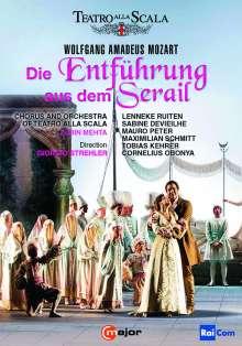 Wolfgang Amadeus Mozart (1756-1791): Die Entführung aus dem Serail, 2 DVDs