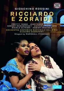 Gioacchino Rossini (1792-1868): Ricciardo e Zoraide, 2 DVDs