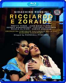 Gioacchino Rossini (1792-1868): Ricciardo e Zoraide, Blu-ray Disc