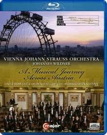 Wiener Johann Strauss Orchester - A Musical Journey Across Austria, Blu-ray Disc