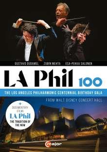 LA Phil 100, 2 DVDs