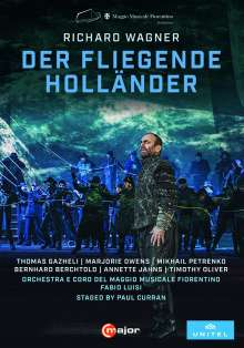 Richard Wagner (1813-1883): Der Fliegende Holländer, 2 DVDs