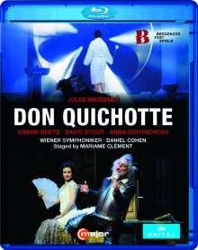 Jules Massenet (1842-1912): Don Quixotte, Blu-ray Disc
