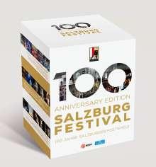 100 Anniversary Edition Salzburg Festival - 100 Jahre Salzburger Festspiele, 10 Blu-ray Discs