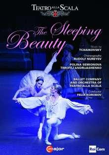 Ballet Company of Teatro alla Scala: Dornröschen, 2 DVDs