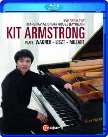 Kit Armstrong plays Wagner/Liszt/Mozart, Blu-ray Disc