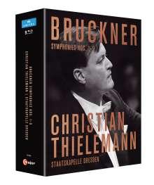 Anton Bruckner (1824-1896): Symphonien Nr.1-9, 9 Blu-ray Discs