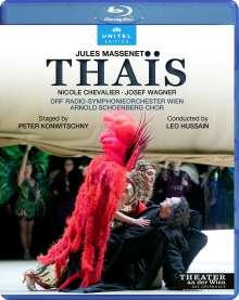 Jules Massenet (1842-1912): Thais, Blu-ray Disc