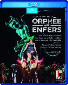 Jacques Offenbach (1819-1880): Orphee aux Enfers, Blu-ray Disc