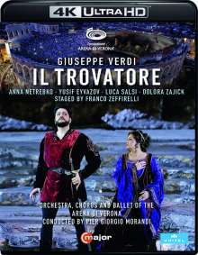 Giuseppe Verdi (1813-1901): Il Trovatore (4K Ultra-HD Blu-ray), Ultra HD Blu-ray
