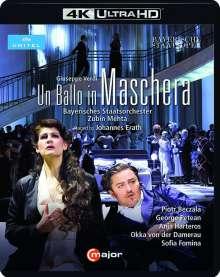 Giuseppe Verdi (1813-1901): Un Ballo in Maschera (4K Ultra-HD), Blu-ray Disc