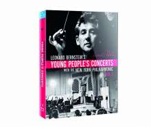Leonard Bernstein - Young People's Concerts with the New York Philharmonic Vol.1, 4 Blu-ray Discs