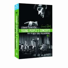 Leonard Bernstein - Young People's Concerts with the New York Philharmonic Vol.2, 7 DVDs