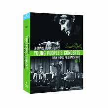Leonard Bernstein - Young People's Concerts with the New York Philharmonic Vol.2, 4 Blu-ray Discs