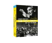 Leonard Bernstein - Young People's Concerts with the New York Philharmonic Vol.3, 4 Blu-ray Discs