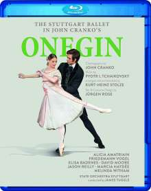 The Stuttgart Ballet - John Cranko's Onegin, Blu-ray Disc