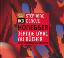 Arthur Honegger (1892-1955): Jeanne d'Arc au Bucher, Super Audio CD