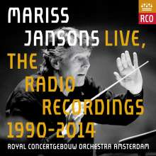 Mariss Jansons Live - The Radio Recordings 1990-2014, 13 CDs