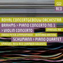 Johannes Brahms (1833-1897): Klavierkonzert Nr.1, 2 SACDs