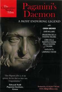 Niccolo Paganini (1782-1840): Paganini's Daemon - A Most Enduring Legend (Dokumentation), DVD