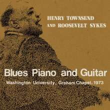 Henry Townsend: Blues Piano And Guitar: Washington University, Graham Chapel 1973, 2 CDs