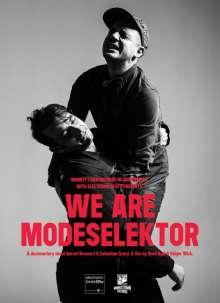 Modeselektor: We Are Modeselektor, Blu-ray Disc