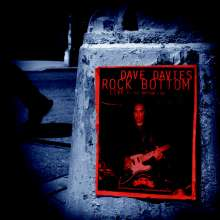 Dave Davies: Rock Bottom: Live At The Bottom Line (RSD) (20th Anniversary) (180g) (Limited Edition) (Red & Silver Vinyl), 2 LPs