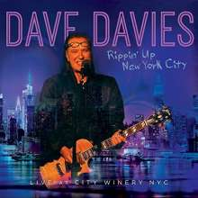 Dave Davies: Rippin' Up New York City: Live At City Winery NYC, CD