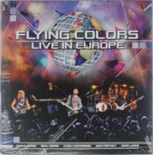 Flying Colors: Live In Europe (180g) (Limited Edition) (Clear Vinyl), 3 LPs