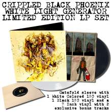 "Crippled Black Phoenix: White Light Generator (180g) (Limited Edition) (2LP + 7"") (Black & White Vinyl), 2 LPs"