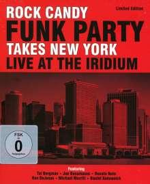 Rock Candy Funk Party feat. Joe Bonamassa: Takes New York - Live At The Iridium (2CD + DVD) (Limited Edition), 2 CDs und 1 DVD
