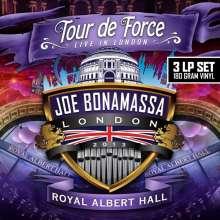 Joe Bonamassa: Tour De Force: Live In London, Royal Albert Hall 2013 (180g), 3 LPs