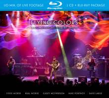 Flying Colors: Second Flight: Live At The Z7, 2 CDs und 1 Blu-ray Disc