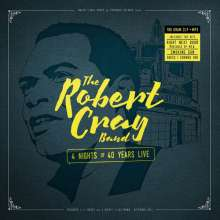 Robert Cray: 4 Nights Of 40 Years Live, 2 CDs