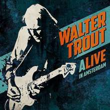 Walter Trout: Alive in Amsterdam (180g), 3 LPs