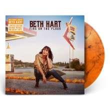 Beth Hart: Fire On The Floor (180g) (Limited Edition) (Orange Marbled Vinyl), LP