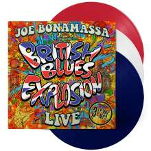 Joe Bonamassa: British Blues Explosion Live (180g) (Limited-Edition) (Red, White & Blue Vinyl), 3 LPs