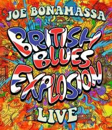 Joe Bonamassa: British Blues Explosion Live, Blu-ray Disc