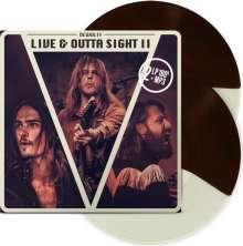 DeWolff: Live & Outta Sight II (180g) (Limited-Edition) (Brown-Cream Split Vinyl), 2 LPs