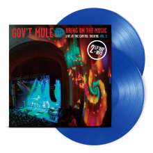Gov't Mule: Bring On The Music - Live At The Capitol Theatre Vol. 2 (180g) (Limited Edition) (Blue Vinyl), 2 LPs