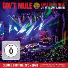 Gov't Mule: Bring On The Music - Live At The Capitol Theatre (Deluxe Edition), 2 CDs und 2 DVDs