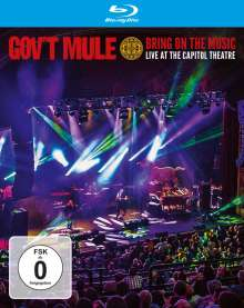 Gov't Mule: Bring On The Music - Live At The Capitol Theatre, Blu-ray Disc