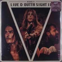 DeWolff: Live & Outta Sight II (180g) (Limited-Edition) (Purple/Cream Double Flavour Cornetto Vinyl), 2 LPs