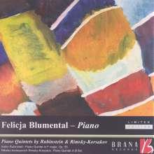 Anton Rubinstein (1829-1894): Quintett für Klavier & Bläser op. 55, CD