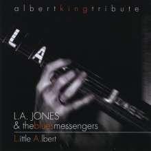 La Jones & The Blues Messenge: L.Ittle A.Lbert, CD