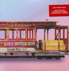The Allman Brothers Band: Fillmore West 1-31-71, 2 LPs