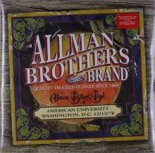 The Allman Brothers Band: American University Washington, D.C. 12/13/70, 2 LPs