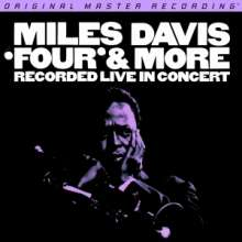 Miles Davis (1926-1991): 'Four' & More - Recorded Live In Concert (remastered) (180g) (Limited-Numbered-Edition), LP