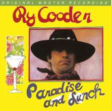 Ry Cooder: Paradise And Lunch (180g) (Limited-Numbered-Edition), LP