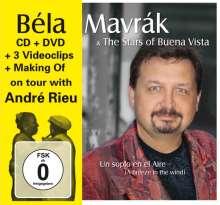 Béla Mavrak: Un Soplo En El Aire (A Breeze In The Wind) (CD + DVD), 1 CD und 1 DVD